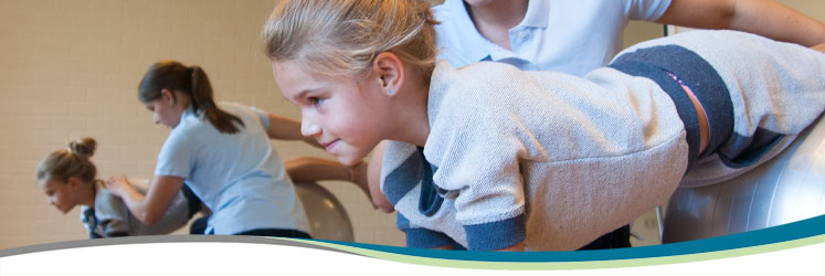 Oefentherapie Cesar en kinderen
